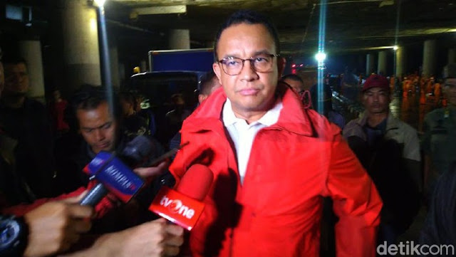 Anies Jawab Istana: Saya Tuntaskan Tanggung Jawab Kemayoran Terbebas Genangan