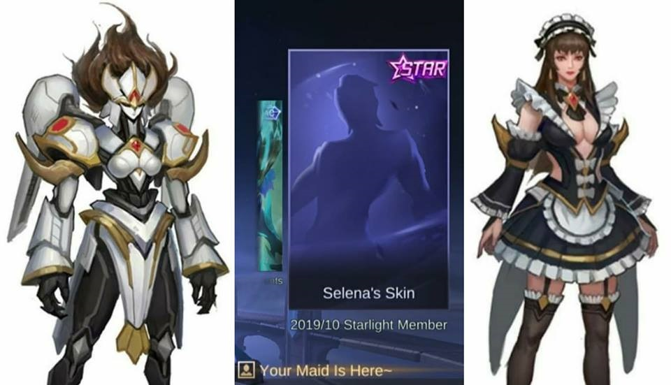 Mobile Legends Leaked: Selena Skin For October 2019 Starlight?
