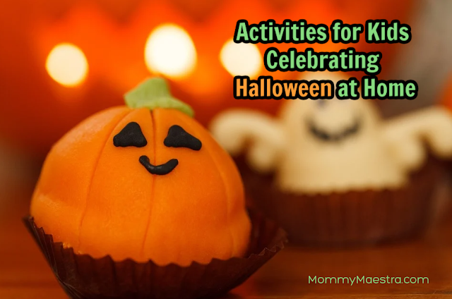 Activities for kids celebrating Halloween at home
