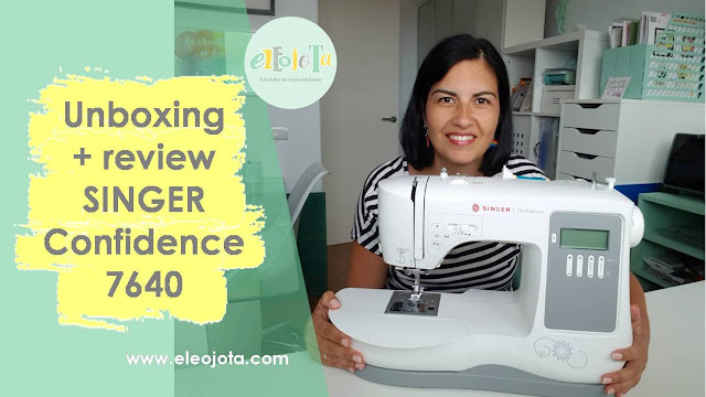 unboxing Singer Confidence 7640