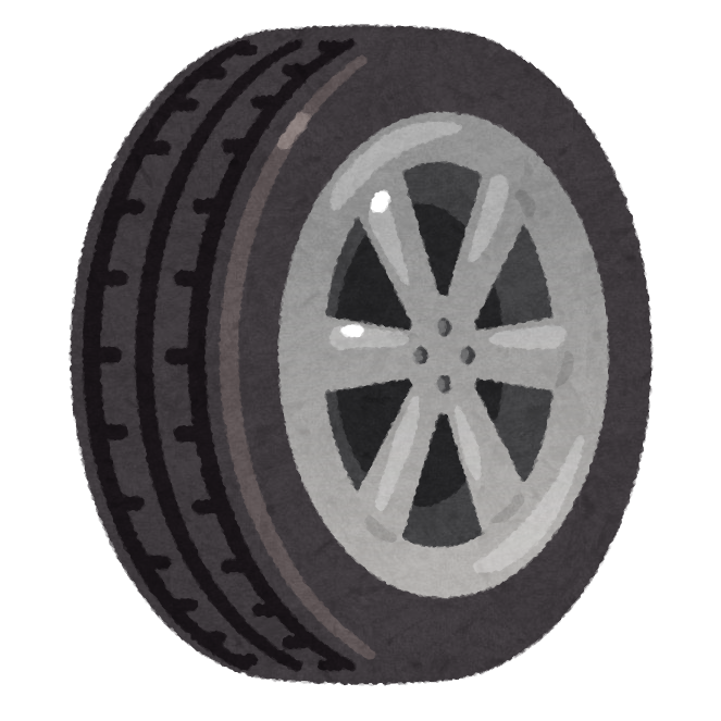 「タイヤ イラスト」の画像検索結果