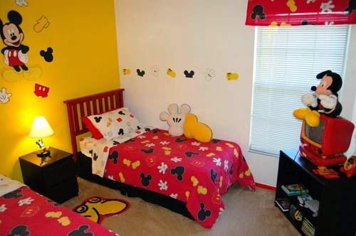 36 Info Top Desain Kamar Tidur Anak Mickey Mouse