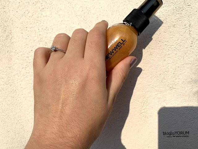 new well derma shimmer fragrance vücut spreyi 3