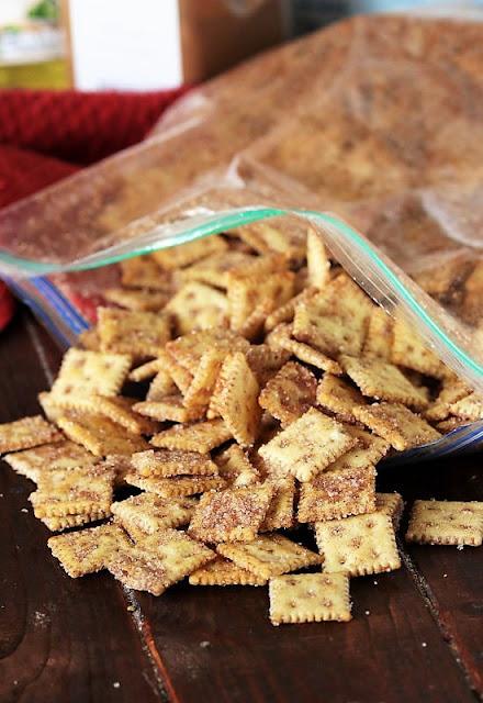 No-Bake Cinnamon Sugar Crackers Image