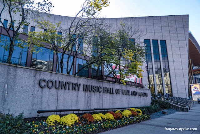 Museu do Hall da Fama da Country Music em Nashville