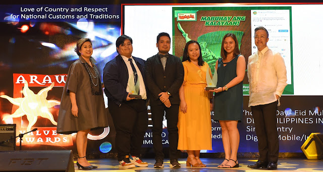 Mang Inasal honored with 8 Araw Values Awards for exceptional digital work