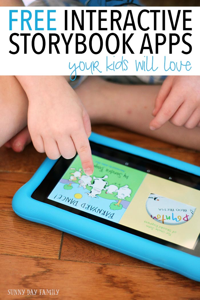 Totally FREE interactive story apps for kids! Make the most of screen time with these interactive books from authors you love like Sandra Boynton and Mercer Mayer. And the best part is they are totally free!