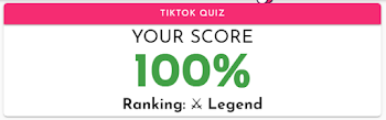 tiktok quiz answers 100% score lowkey quiz all answers