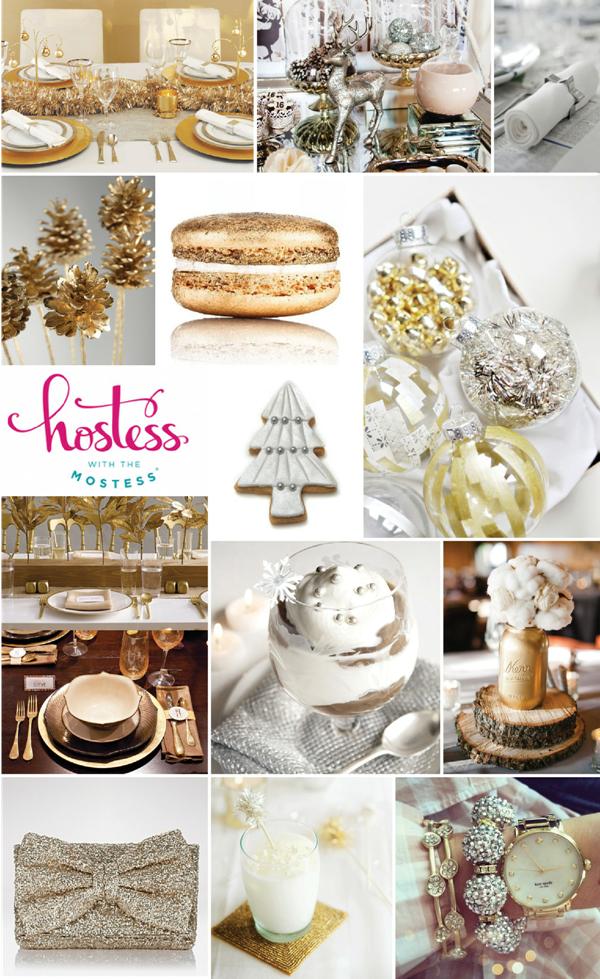 Merry and Bright Christmas Holiday Party Ideas - via BirdsParty.com