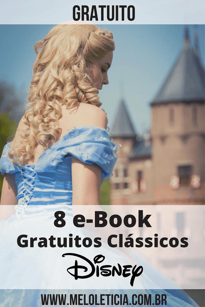 [ GRÁTIS ] 8 e-Book clássicos da Disney