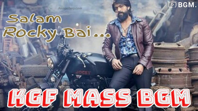 KGF Mass BGM - Ringtone Original Background Score - MP3 Download