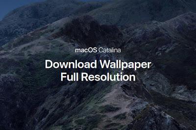 Unduh MacOS Catalina Wallpaper Full Resolution