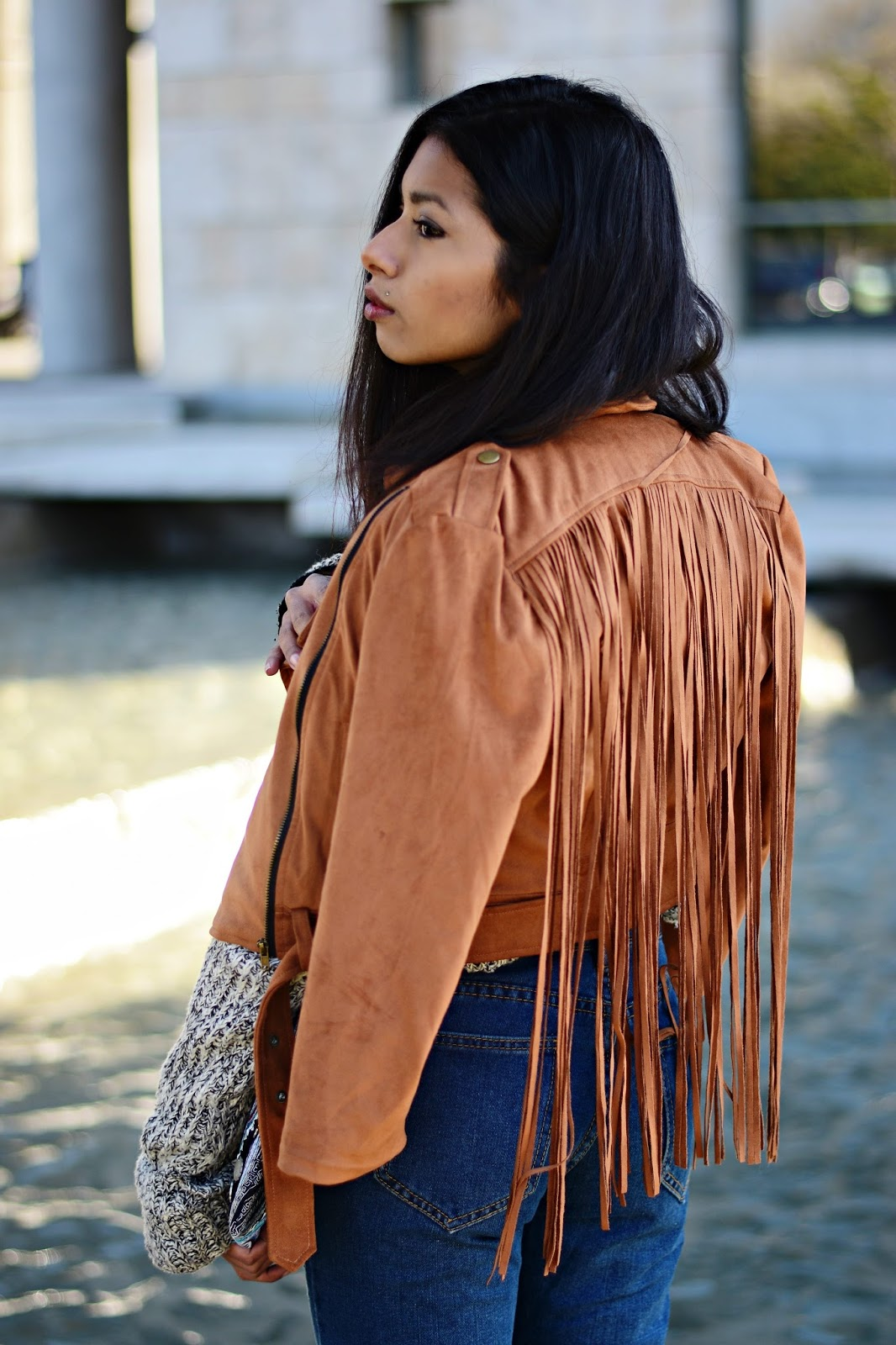 Style Boho chic in winter