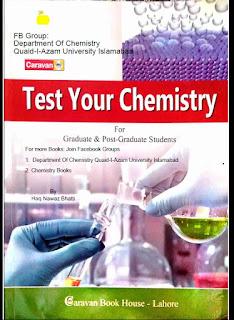 Test Your Chemistry by Dr Haq Nawaz Bhatti 2nd Edition