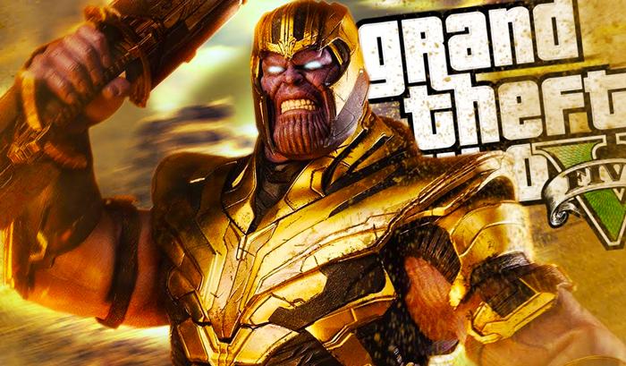 GTA 5 Mod - Thanos (Avengers-Endgame) Download Now