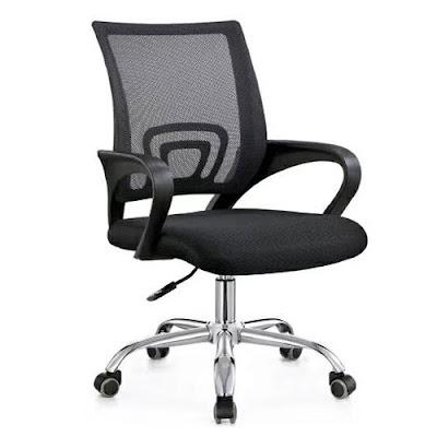 Ghế văn phòng GLMV1, Ghế văn phòng chân xoay, ghế văn phòng lưng lưới - 3