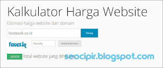 Cara Mudah Cek Harga Blog Atau Website