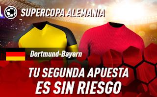 sportium super copa alemania Promo Dortmunt vs Bayern 3 agosto 2019