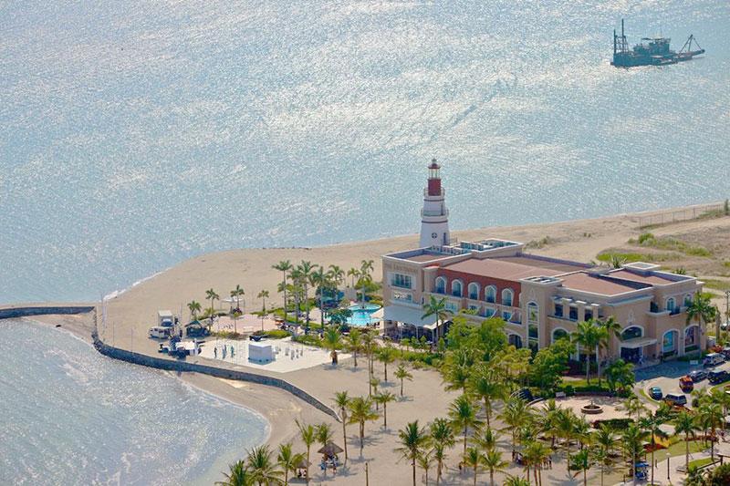 The Lighthouse Marina Resort in Zambales