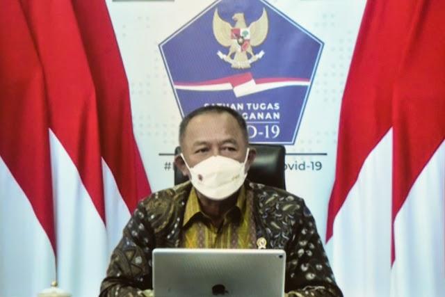 Ketua Satgas Covid-19  Sebut Sumut Termasuk Provinsi  yang Rendah Penerapan Prokes