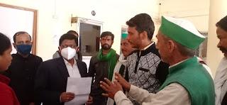 बाराबंकी के सभी किसान  संगठन एक साथ मिलकर 6 फरवरी को भारत बंद कर करेगे चक्का जाम