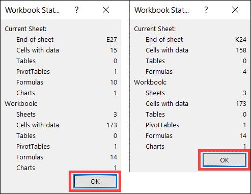 إحصائيات المصنفات لورقتين