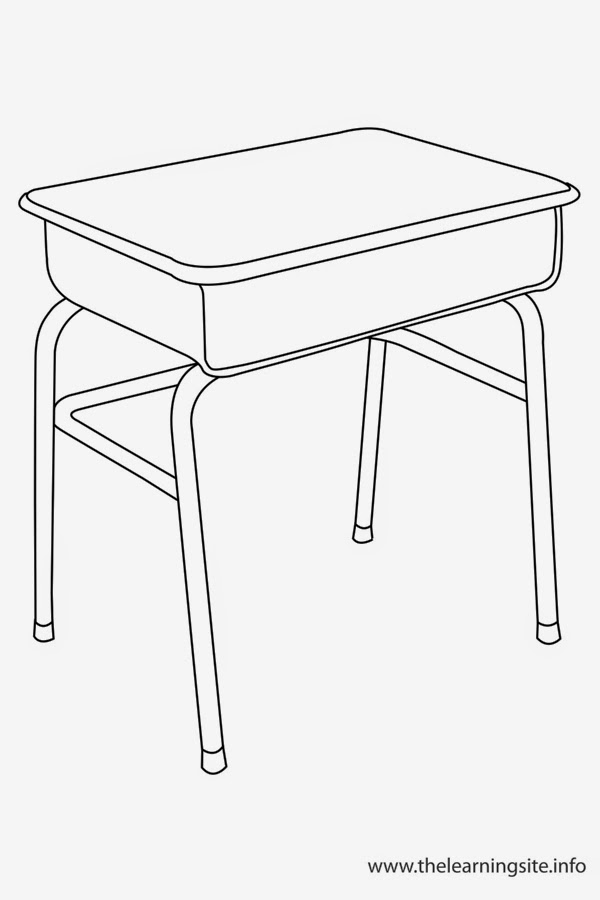 Coloring Sheets And Chair Desk