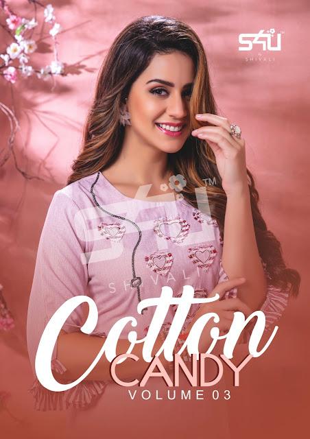 S4U Cotton Candy vol 3 Fancy Kurtis Collection