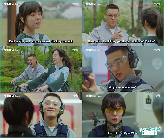 Se joo ask for jeon seol for a bicycle date - Chicago Typewriter: Episode 10 korean drama