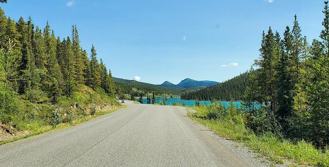 Summit Lake Alaska Highway British Columbia Canada
