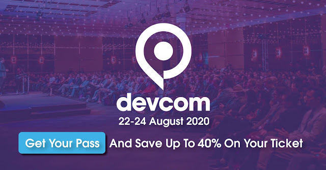 "devcom 2020 starts ""Early Bird"" Ticket Sale and Call for Papers"