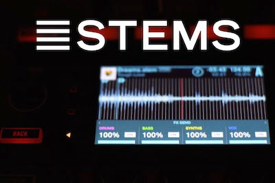 Stems Audio File Format image