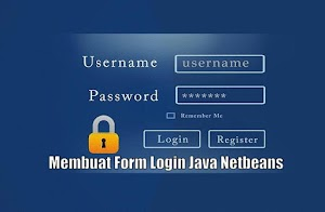 membuat form login java dengan mysql