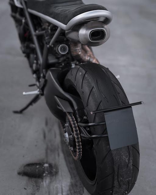 Ducati 848 EVO By Motocrew Hell Kustom