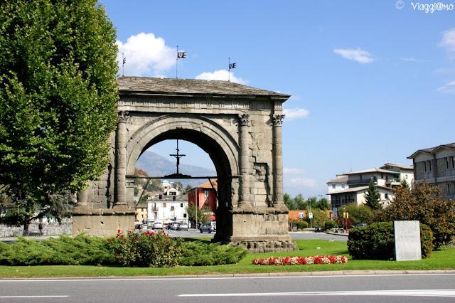 Arco di Augusto testimonianza Romana