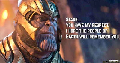 Thanos Quotes about stark