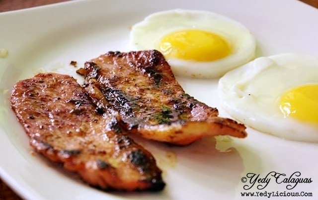 Aristocrat Restaurant Breakfast Tocino Plate