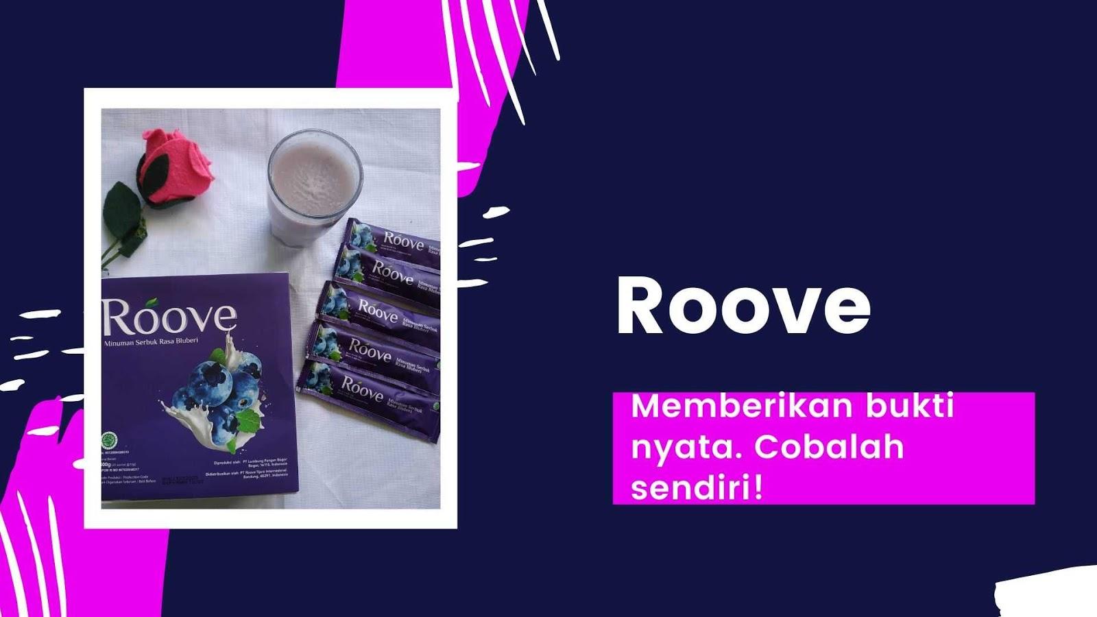 roove beauty drink memberikan bukti nyata