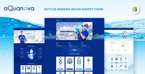 Best Bottled Drinking Water Shopify Theme