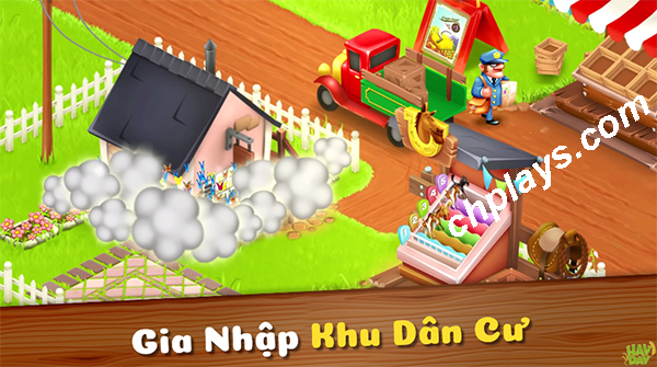 Tải game Hay Day - Game nông trại hay cho Android, IOS, PC, LapTop f