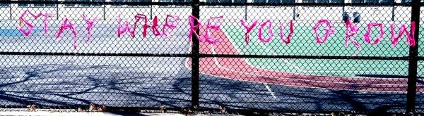 stay where you grow : UWS graffiti