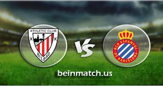 مشاهدة مباراة اسبانيول وأتلتيك بلباو بث مباشر اليوم 25-01-2020 في الدوري الاسباني