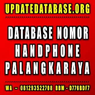 Jual Database Nomor Handphone Palangkaraya