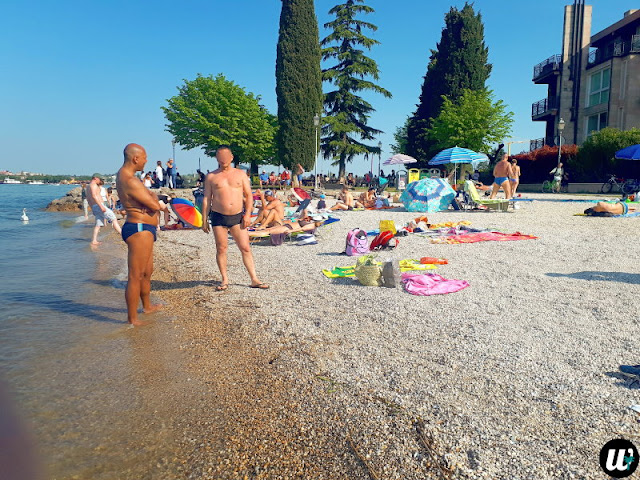 Bracco Baldo beach, Peschiera del Garda, Lake Garda | Veneto, Italy | wayamaya