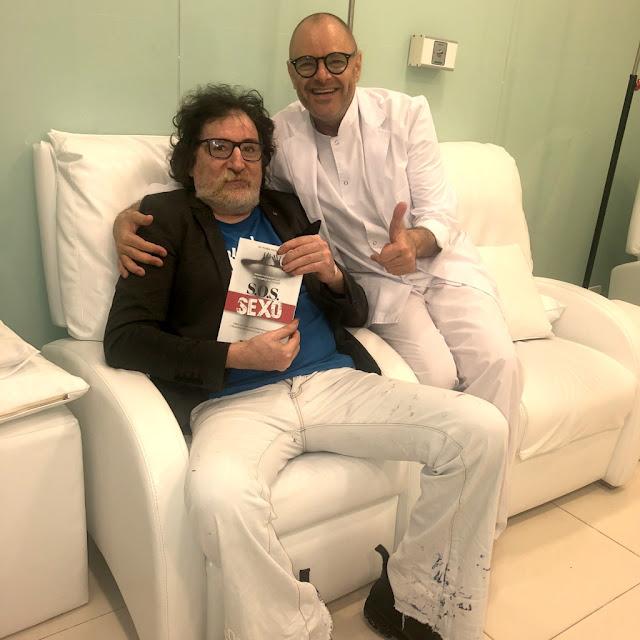 #ElSexodelFuturo Charly Garcia y el Dr. Muhlberger