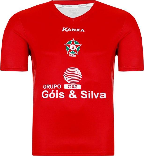 Kanxa divulga a nova camisa titular do Boa Esporte - Show de Camisas 9cfeab12bd834