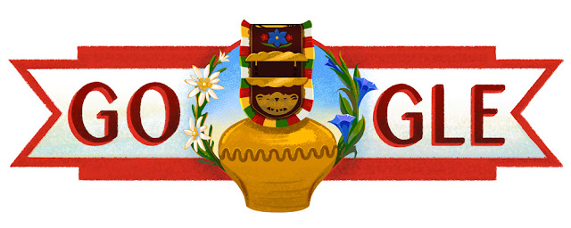 Switzerland National Day 2016 - Google Doodle