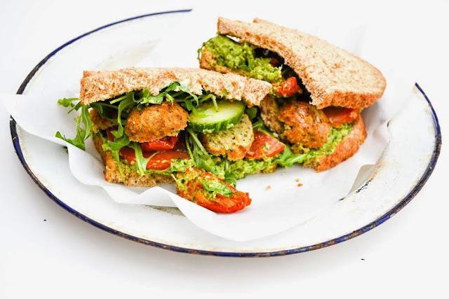 The ultimate vegan sandwich