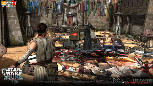 Star Wars Pinball The Force Awakens Gameplay Screenshot 4