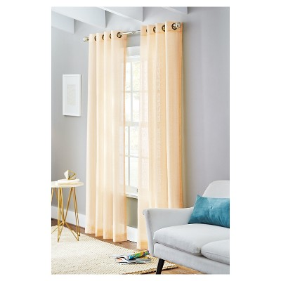 Modern Double Curtain Rod Drapes And Curtains Eyelet French Door